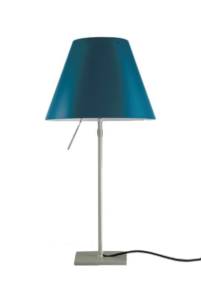 LUCEPLAN lampada da tavolo COSTANZINA RADIEUSE BLU