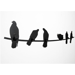COVO appendiabiti BIRDS ON WIRE