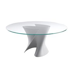 Mdf italia tavolo rotondo s table bianco opaco for Tavolo kartell rotondo
