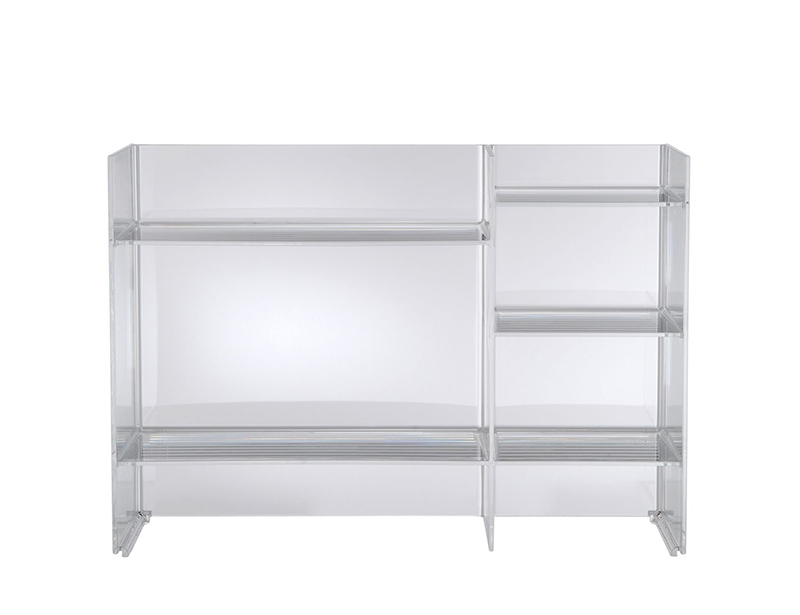 KARTELL by Laufen mobile da bagno SOUND-RACK (Cristallo - PMMA ...