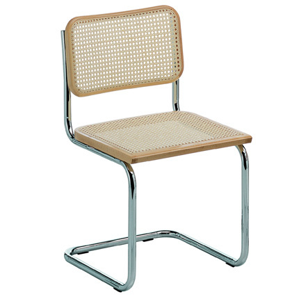 Knoll chaise cesca by marcel breuer for Sedie design knoll