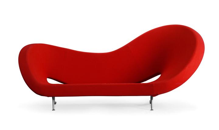 Moroso sofa victoria and albert 290 cm dx kvadrat for Sofa 500 euro