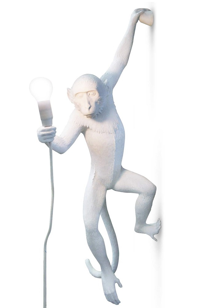 SELETTI lampada da parete MONKEY LAMP a LED - MyAreaDesign.it