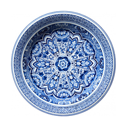 MOOOI CARPETS tappeto DELFT BLUE PLATE Signature collection