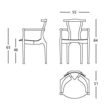 bd barcelona design gaulino chair sizes