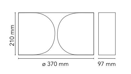 flos foglio sizes