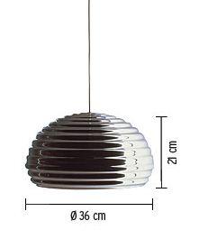 flos lampada splugen brau misure