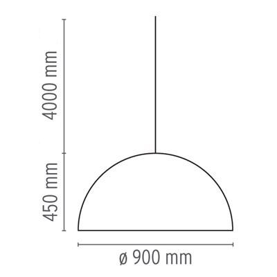 flos lampada skygarden 2 misure