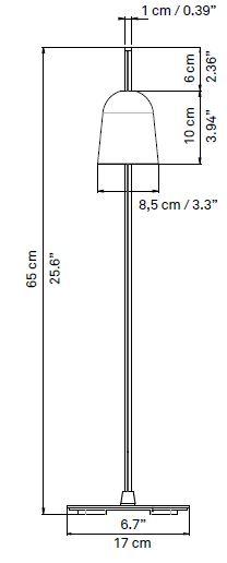 luceplan ascent tavolo