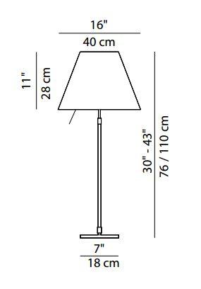 Costanza LED Luceplan