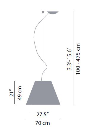 luceplan misure