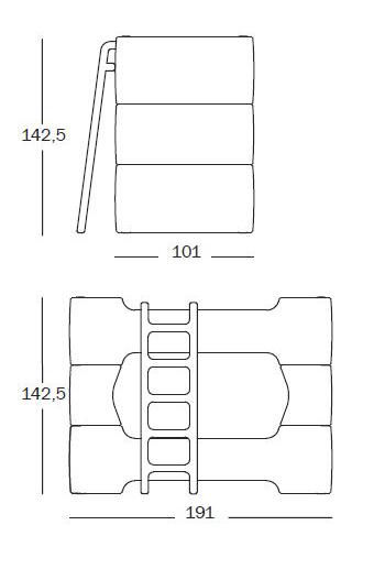 magis bunky sizes