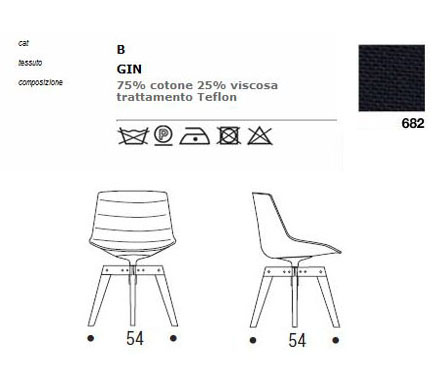 mdf italia flow chair sizes