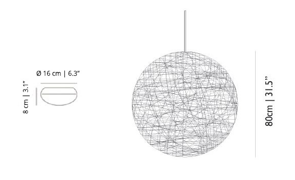 Moooi Random Light Lamp