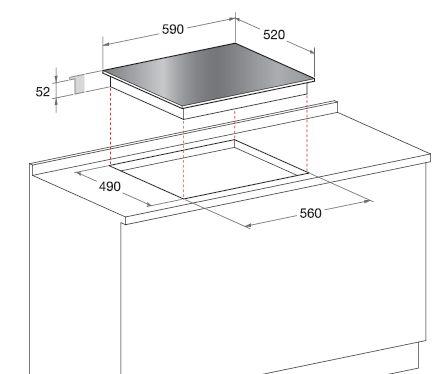 Scholtes piano cottura a induzione tip 642 dd b tip642ddb for Piano cottura scholtes