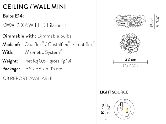 slamp clizia wall large