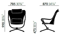 vitra waver sizes