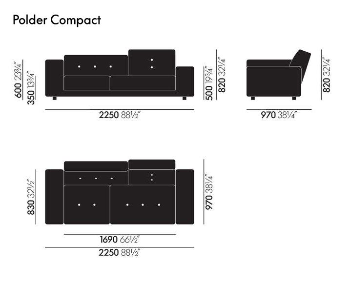 Vitra Polder Compact