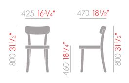 vitra basel chair sizes