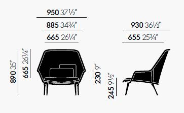 vitra hal sizes