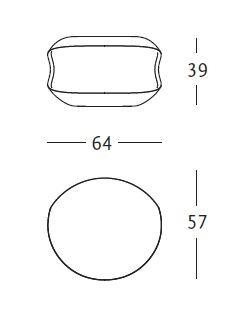 zanotta tavolino whiteshell