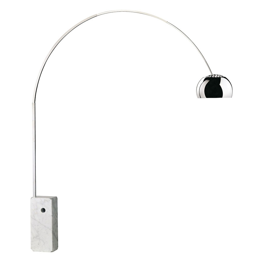 neuf lampe arco flos castiglioni design original italie ebay. Black Bedroom Furniture Sets. Home Design Ideas