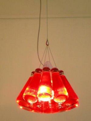Ingo Maurer Lampada A Sospensione Campari Light H 155cm