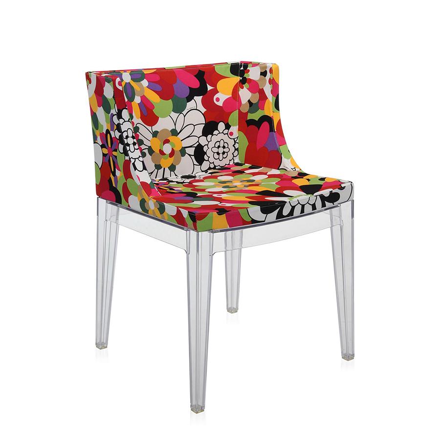 Mademoiselle � La Mode Missoni Chair Kartell: KARTELL MISSONI Mademoiselle Sedia Vevey Toni Rossi