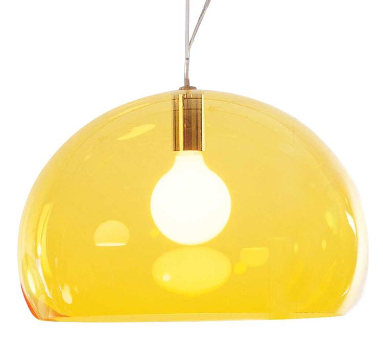 altezza lampadario : KARTELL lampada a sospensione FL/Y fly AZZURRO NUVOLA design Ferruccio ...