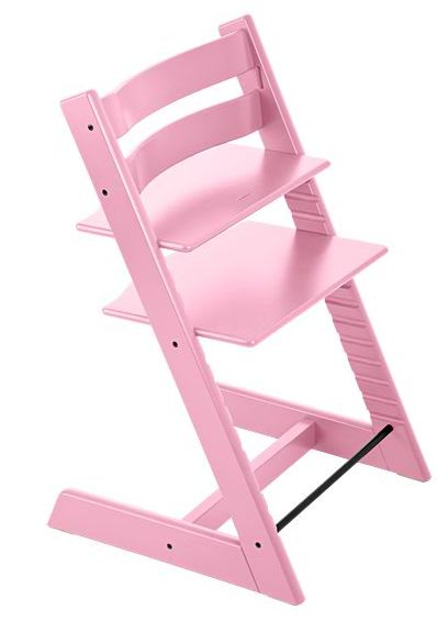 stokke seggiolone tripp trapp sedia sgabello rosa ebay. Black Bedroom Furniture Sets. Home Design Ideas