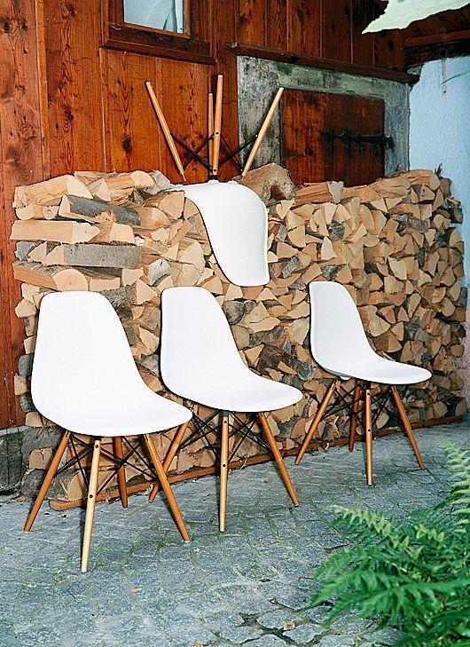 Vitra sedia originale eames plastic armchair dsw design ebay - Sedia eames originale ...