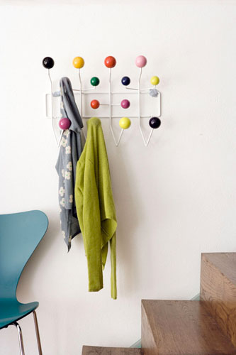 vitra appendiabiti hang it all attaccapanni da parete design by c r eames ebay. Black Bedroom Furniture Sets. Home Design Ideas