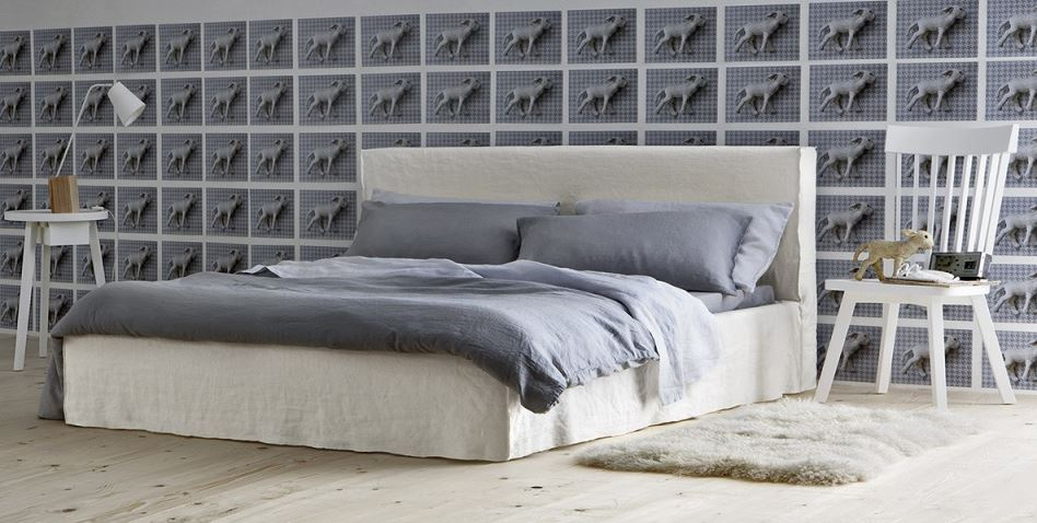 gervasoni lit deux personnes brick 80 e avec sommier de 160 x 200 cm. Black Bedroom Furniture Sets. Home Design Ideas
