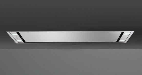 falmec hotte au plafond stella 90 cm en acier inox moteur sous combles 950 m3 h ebay. Black Bedroom Furniture Sets. Home Design Ideas