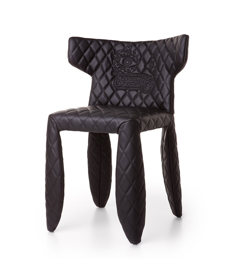 Moooi sedia monster armchair for Sedia design faccia