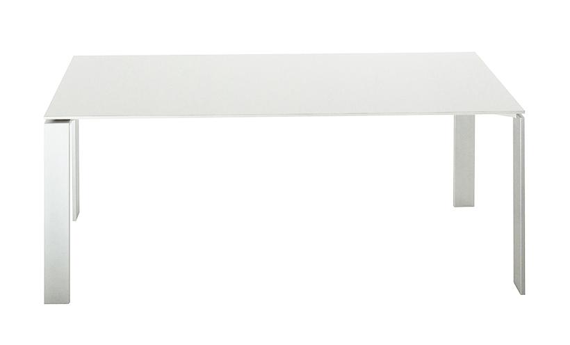 Kartell tavolo four dim 158x72x79 piano bianco gambe - Tavolo four kartell prezzo ...