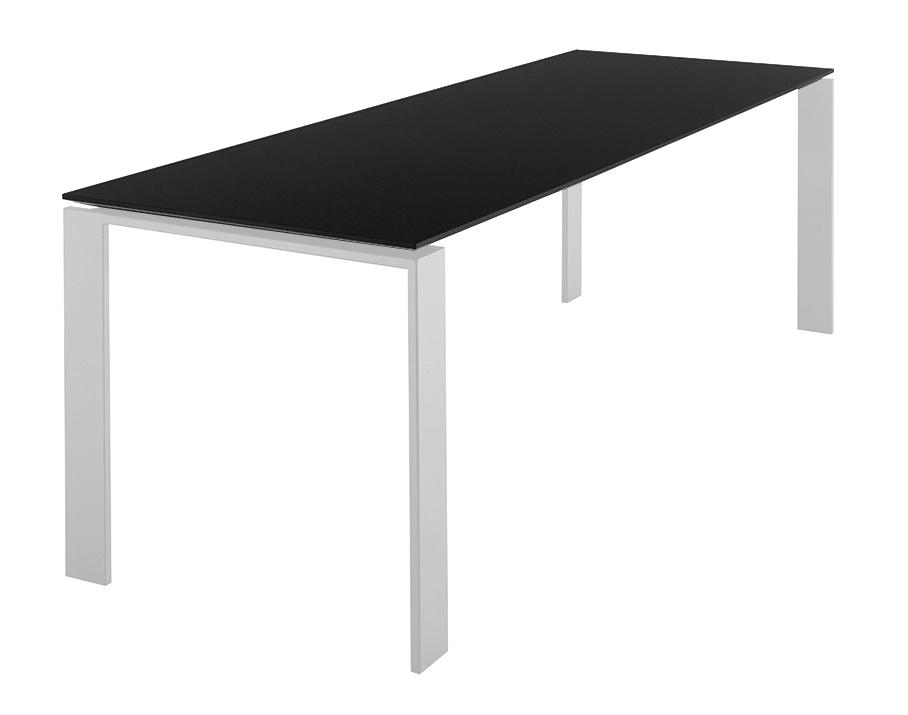 Kartell tavolo four dim 223x72x79 piano nero gambe - Tavolo four kartell prezzo ...