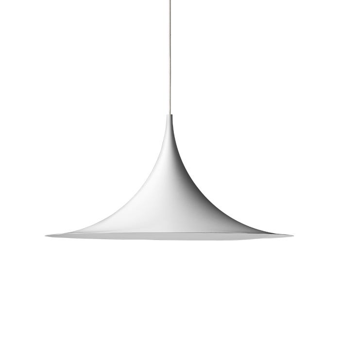 gubi lampe suspension semi 30 cm blanc m tal. Black Bedroom Furniture Sets. Home Design Ideas