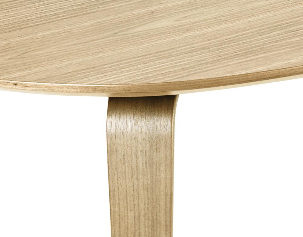 Gubi Dining Table Elliptical Oak Wood Myareadesign It