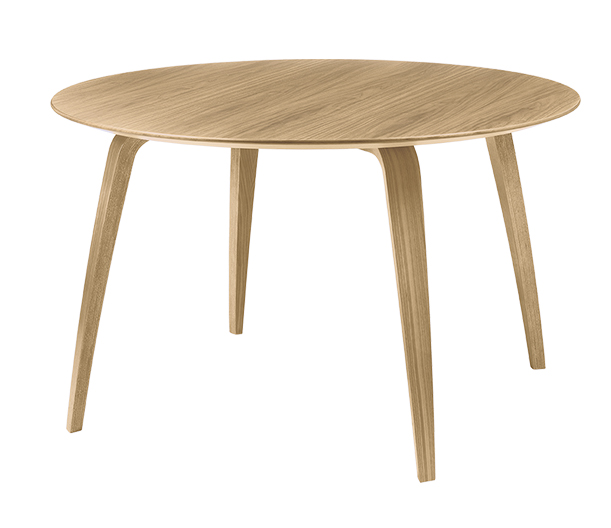 GUBI tavolo rotondo DINING TABLE (Rovere - Legno) - MyAreaDesign.it