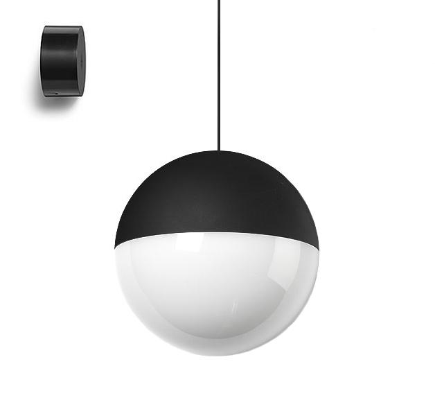 Flos lampada a sospensione string light sfera 22 metri con for Sospensione flos