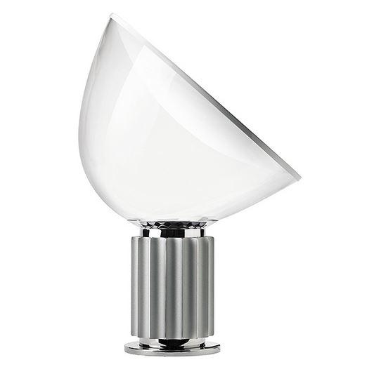 FLOS lampada da tavolo TACCIA LED (Anodizzato   Alluminio e vetro)   MyAreaDesign it # Lampada Flos Led
