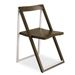 CONNUBIA set 2 folding chairs SKIP CB/207
