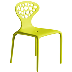 MOROSO set of 4 chairs with perforated back SUPERNATURAL