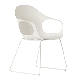 KRISTALIA armchair on a slide frame ELEPHANT