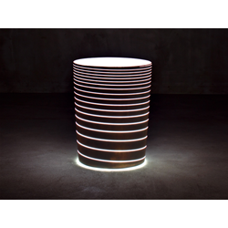 SERRALUNGA vase GRAND JANE with light