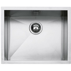 "BARAZZA sink square tray radius ""0"" flush and built-in 50x40 1Q5040I"