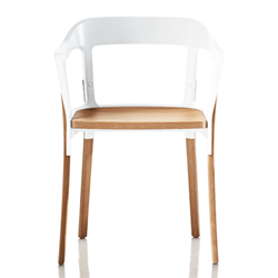 MAGIS sedia STEELWOOD CHAIR