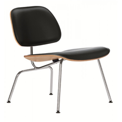 VITRA lounge chair Plywood LCM LEATHER