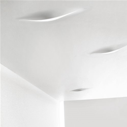 INGO MAURER ceiling / wall lamp SCHLITZ UP